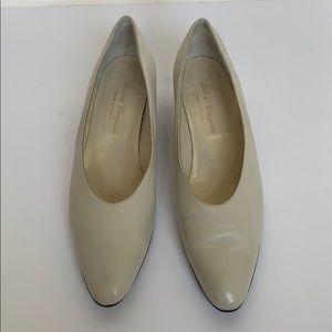 Vintage ROBERT CLERGERIE Beige Heels